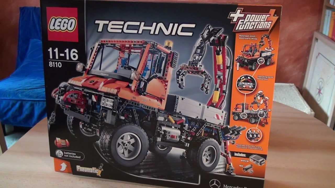 test lego set 8110 unimog u400 serie technic youtube. Black Bedroom Furniture Sets. Home Design Ideas