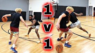 TOUGH 1v1 Basketball Against TJass!