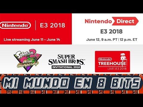 NINTENDO CONFERENCIA ESPAÑOL - E3 2018