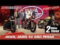 Jawa, Jawa 42 and Jawa Perak (Bobber) | First Look