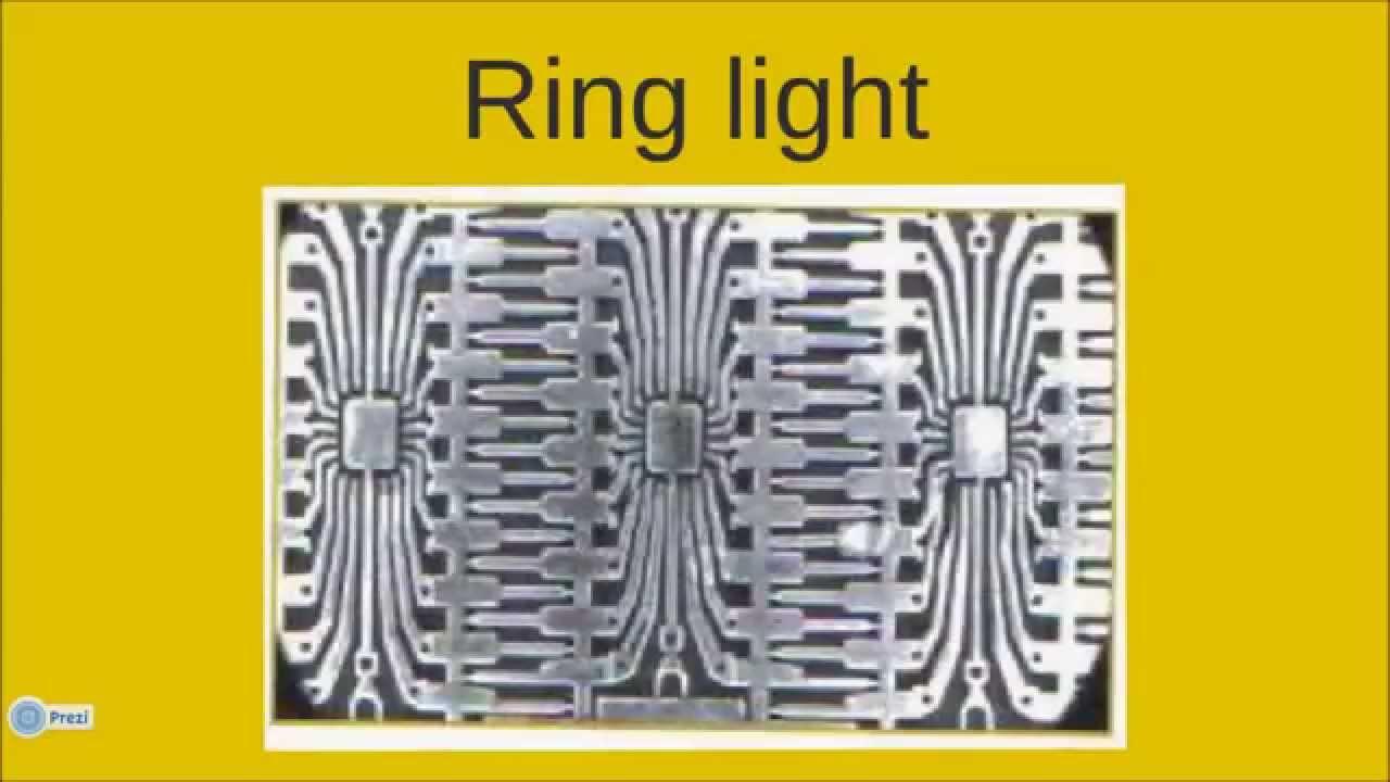 Grundlagen Bildverarbeitung: Beleuchtungswinkel