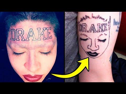 Татуировки, Которые Зашли Слишком Далеко