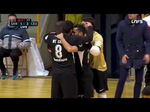 JERUBEX Santiago Futsal - Unión África Ceutí Jornada 3 Grupo 2 Segunda División Temp 20 21