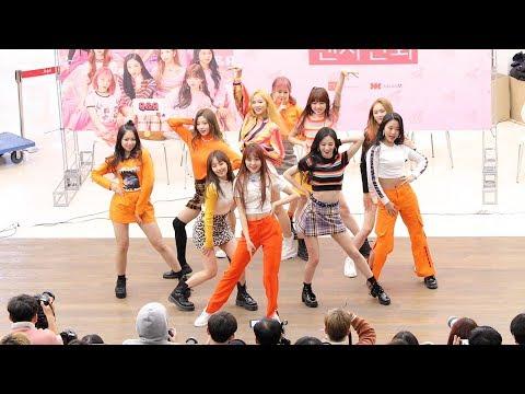 190209 체리블렛(Cherry Bullet) - 다시 만난 세계 (Into The New World) SNSD 소녀시대 Cover [코엑스팬사인회] 4K 직캠 by 비몽