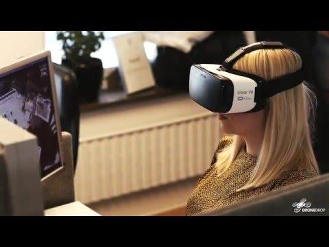 Bredband2 lanserar världens första VR-styrda leveranser med drönare