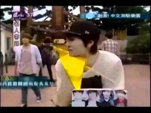 Sungmin accidentally hitting Kyuhyun