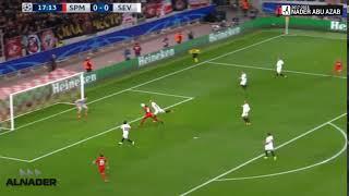 هدف سبارتاك موسكو الاول في اشبيلية | Spartak Moscow - Sevilla 1-0 ...
