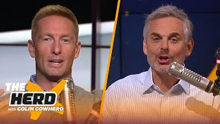 Joel Klatt on Brian Kelly's Notre Dame success, CFB rankings, Justin Fields, Jim Harbaugh | THE HERD