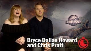 Jurassic World: Interview with Chris Pratt and Bryce Dallas Howard   Timed Out   Time Out London