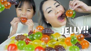 TikTok FRUIT JELLY!! Mukbang   N.E Let's Eat