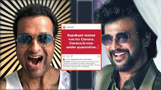 Coronavirus post on Rajinikanth: Actor Rohit Roy trolled..