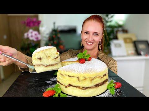 Воздушная ТВОРОЖНАЯ ЗАПЕКАНКА Березка из самых простых продуктов Люда Изи Кук выпечка Cheesecake