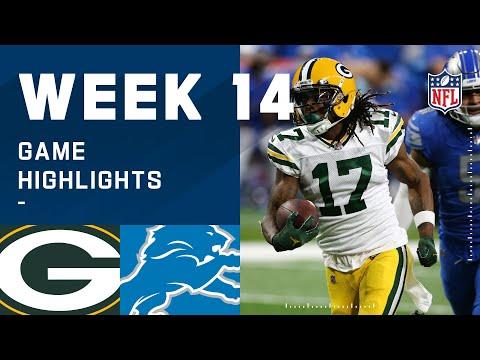 Packers vs. Lions Week 14 Highlights | NFL 2020