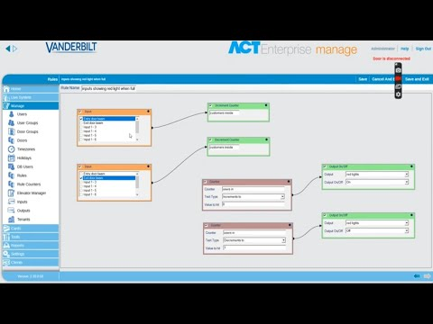 ACT Enterprise: How to track the number of people allowed into a facility