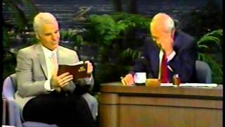 Steve Martin @ The Tonight Show with Johnny Carson - August 30, 1989