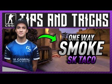 CS:GO Tips ☆ Flusha One Way Smoke Entry Kill on Mirage