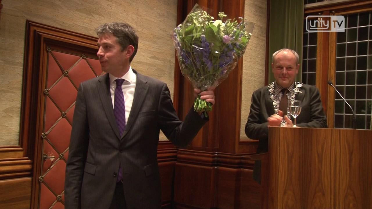Nieuwe griffier gemeenteraad Leiden beëdigd