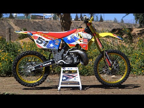 Motocross Action tests Travis Pastrana's Suzuki RM250 MXDN 2 Stroke