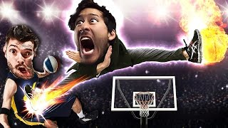 KICKED IN THE BALLS!! | Karate Basketball