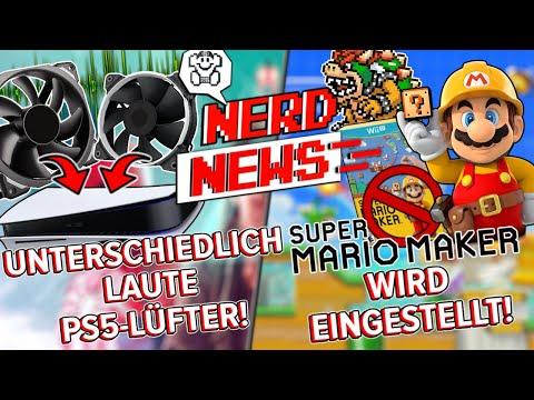 Unterschiedlich laute PS5 Versionen! / Super Mario Maker verabschiedet sich!