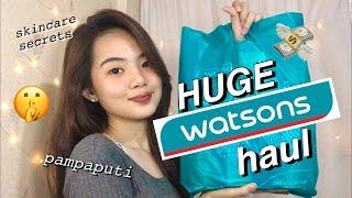 WATSONS HAUL 2019 ((murang pampaputi & skincare products))