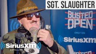 Sgt. Slaughter On How He Would Deal With WWE's Scripted Promos