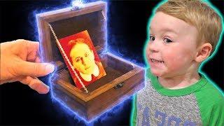 The Haunted Box! | DavidsTV