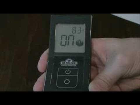 Napoleon F40 Amp F50 Remote Controls Youtube