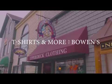 Bowen's Wharf | Upper Deck Clothing