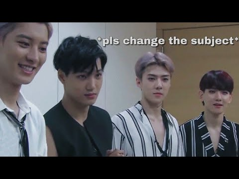 why exo don't go on variety shows