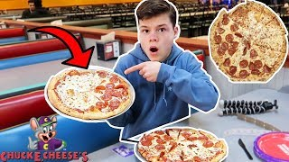 We Tested The Chuck E. Cheese Pizza Conspiracy... (Must Watch)