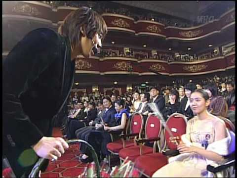 Bi Rain 2004 3rd Korea Film Awards(It's Raining + I Do)(2004.12.05)