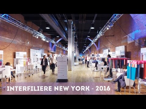 Interfilière New York 2016