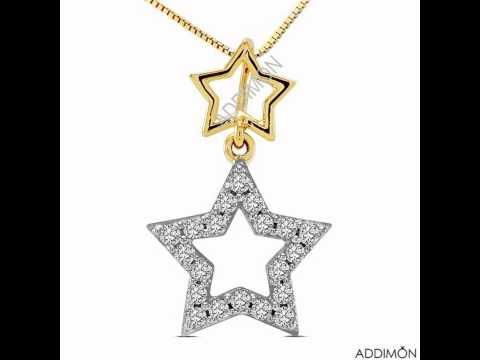 Exclusive diamond pendant