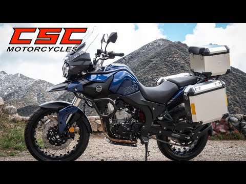 The RX4 Adventure from CSC Motorcycles - Your Adventure Within Reach!
