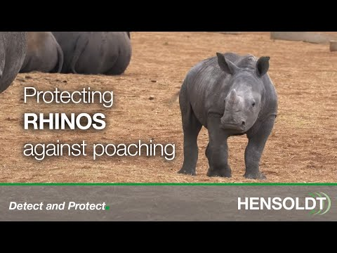 HENSOLDT Anti Rhino Poaching Trailer