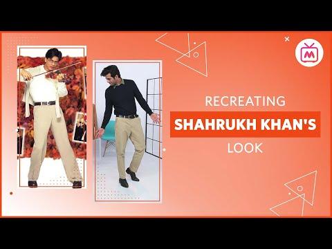 Recreate Shahrukh Khan's Look