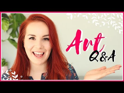 Art Q&A | Scared of Failure, How to Find Inspiration, Motivation & Getting Rid of Self-doubt!