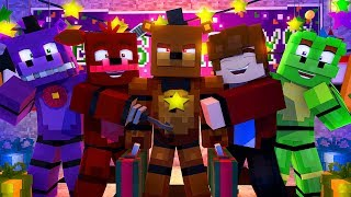Minecraft FNAF 6 Pizzeria Simulator - ROCKSTAR FREDDY IS BACK?! (Minecraft Roleplay)