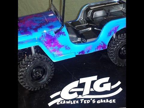Crawler Teds Garage - SAwback Build Series PArt 10 - Final