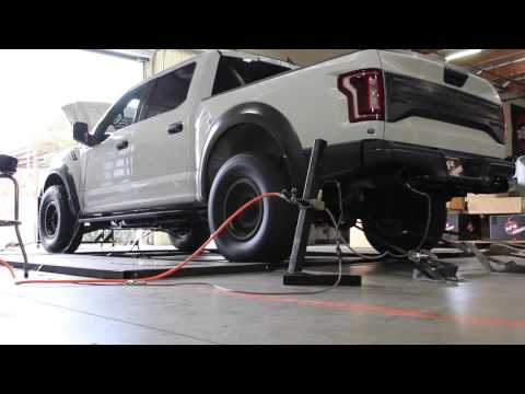 2017 Ford Raptor Ecoboost aFe Power Scorcher Tune On Dyno