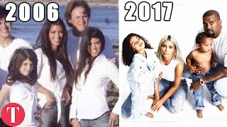 The Evolution Of The Kardashian Christmas Card