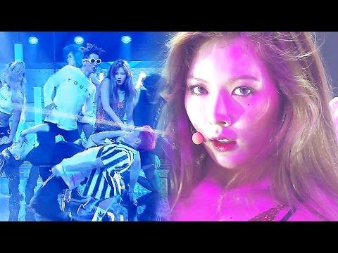 《Comeback Special》 HyunA (현아) - How's this? (어때?) @인기가요 Inkigayo 20160807