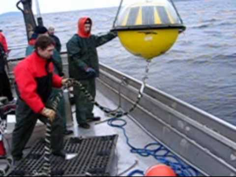 TRIAXYS Buoy Deployment Vancouver Island