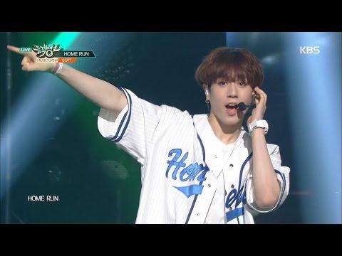 뮤직뱅크 - GOT7, 청량 매력 발산! 'HOME RUN'.20160422