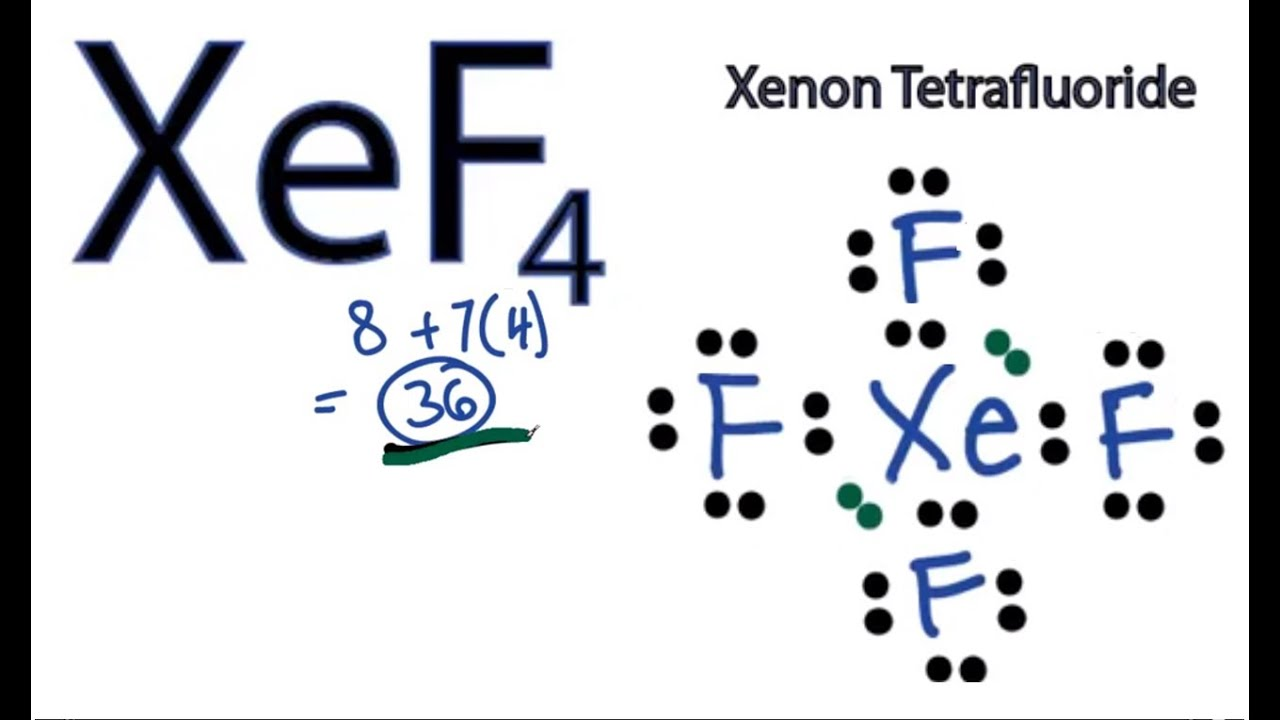 maxresdefault jpgXeof4 Molecular Geometry