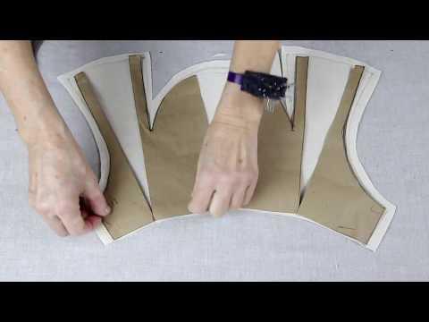 что такое рукав пагода? Моделируем окат со складками.
