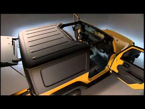 jeep wrangler freedom hard top removal youtube. Black Bedroom Furniture Sets. Home Design Ideas