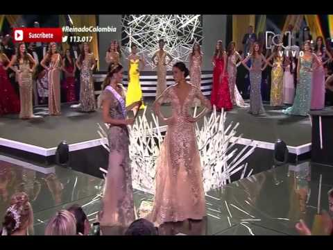 Elección Señorita Colombia 2015  - 2016 Andrea Tovar, Virreina y Princesas