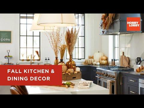 Fall Kitchen & Dining Decor | Hobby Lobby®